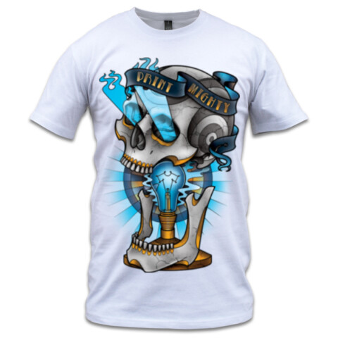Sam Phillips - Skull - Print Mighty Brand